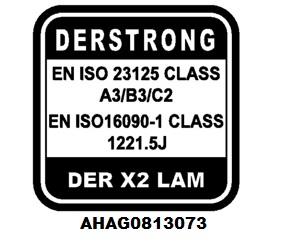LAM CE certificated logo